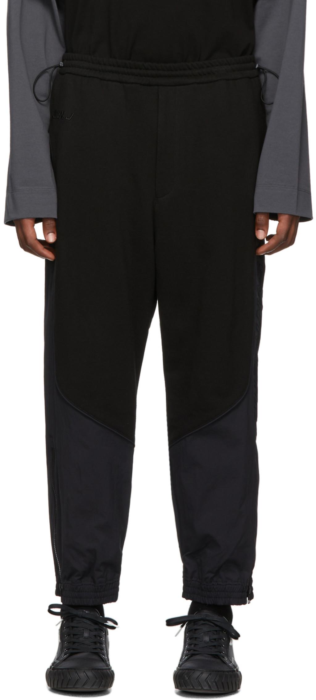 98e172d273 Black Plain Lounge Pants