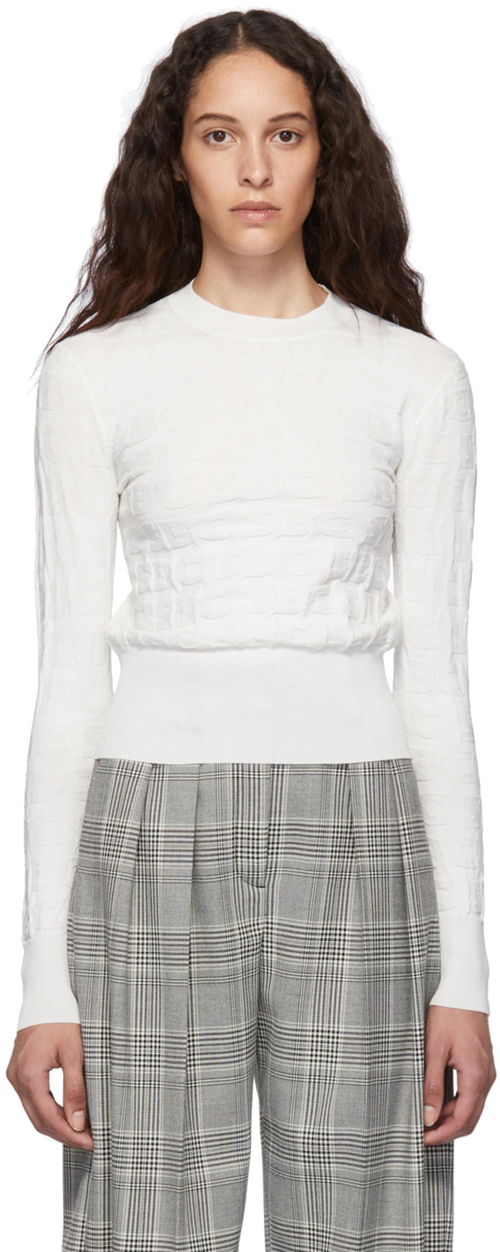 cc691879e9 White SBC Crewneck Sweater