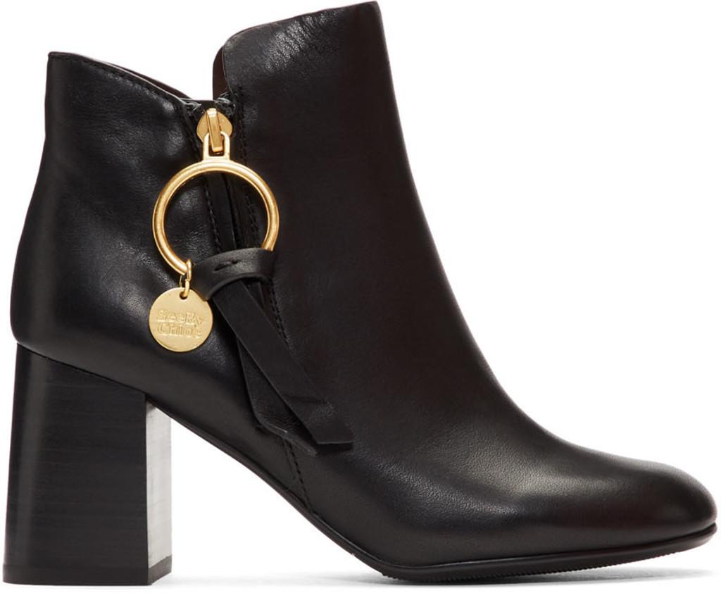 3b352367 Black Medium Louise Ankle Boots