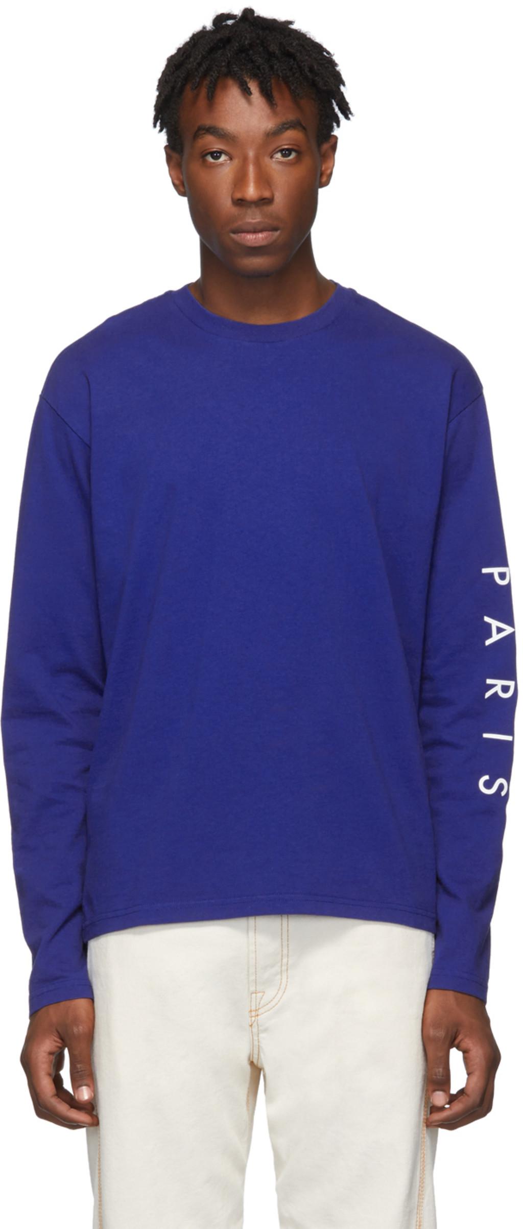 19e2212031 Blue Skate Long Sleeve T-Shirt