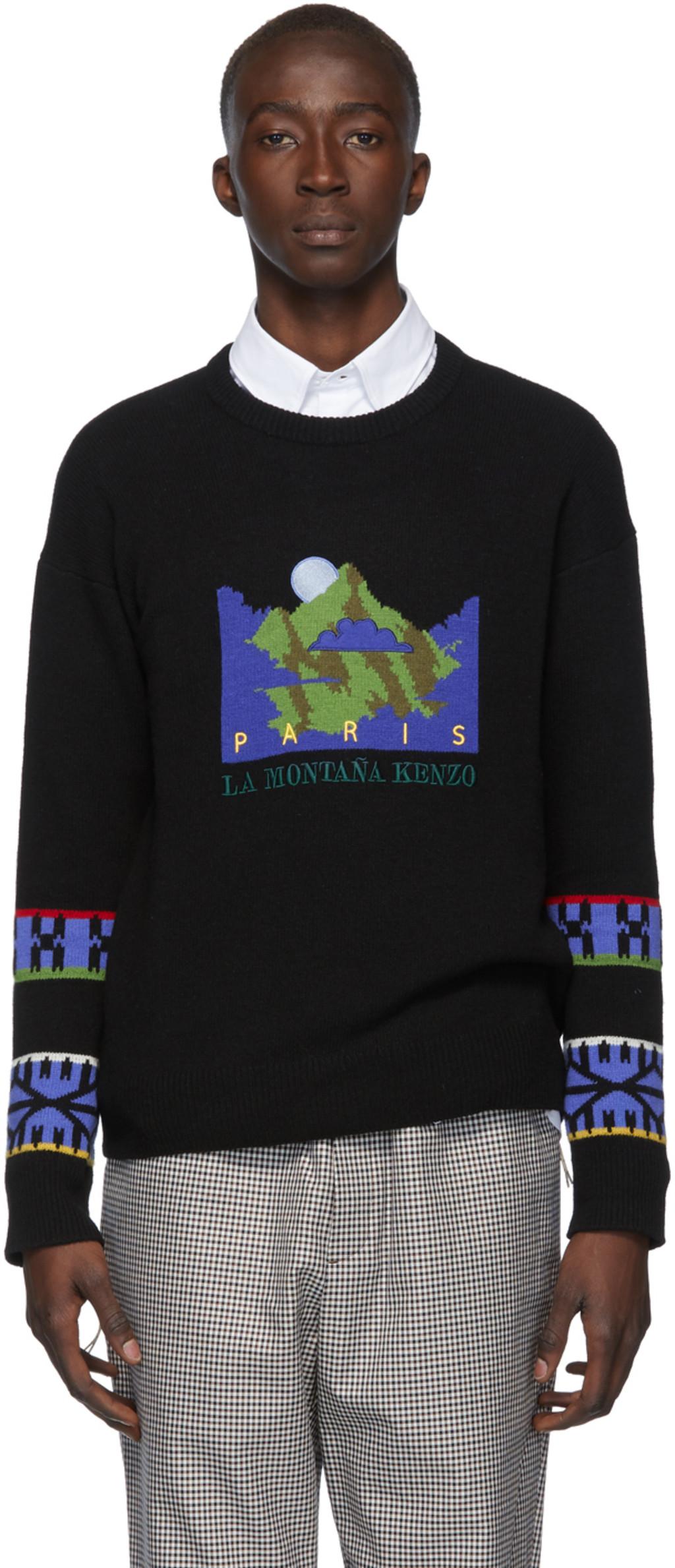 0994d91898 Black 'La Montaña Kenzo' Sweater