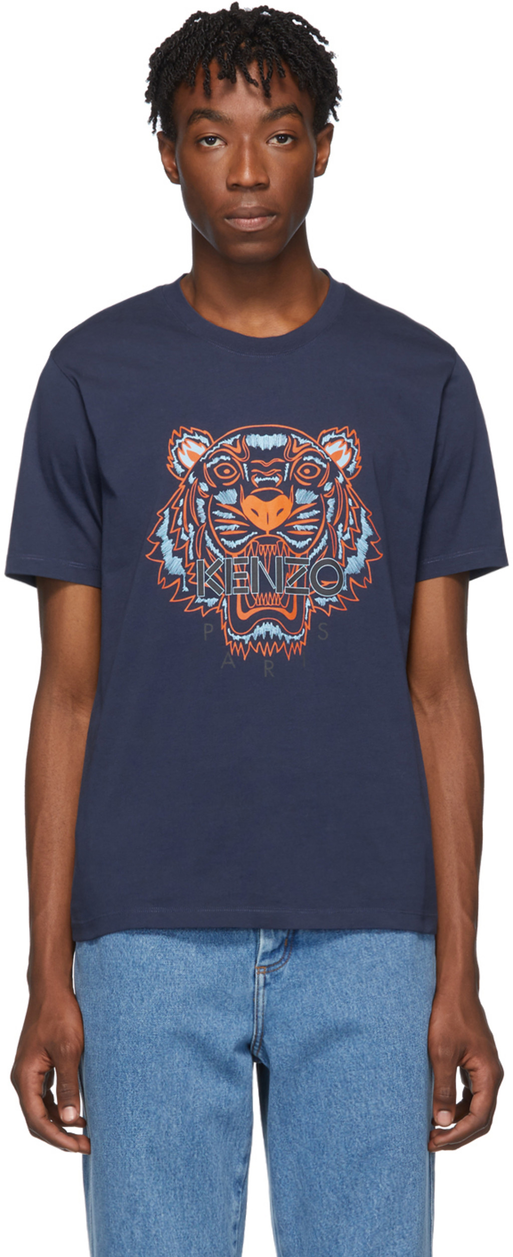 b4eff1417c Blue Classic Tiger T-Shirt