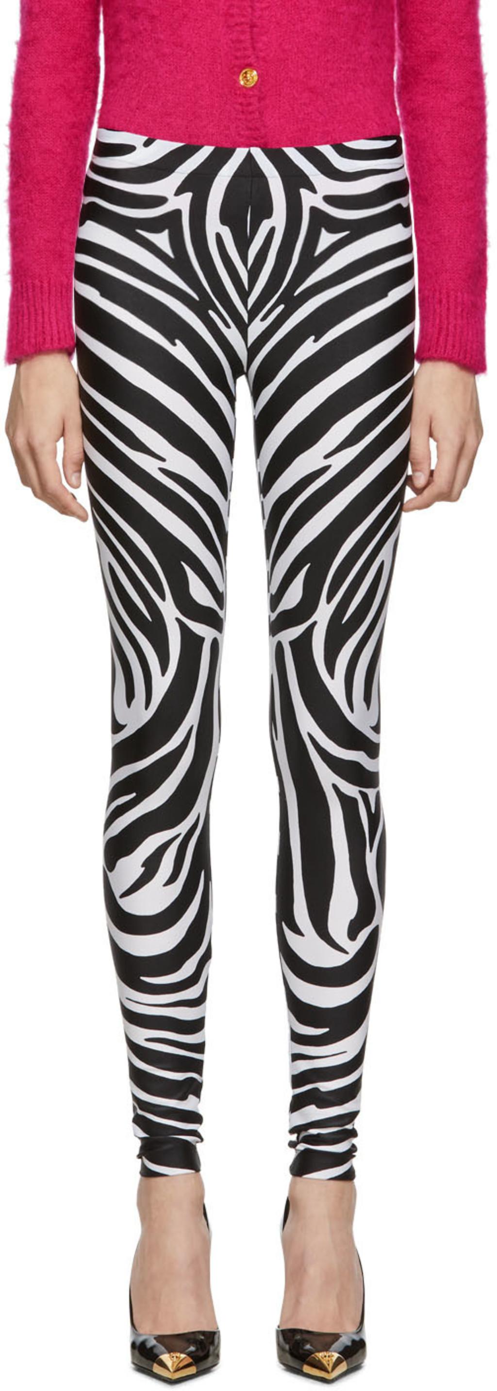 863fadd0eb0f02 Versace leggings for Women | SSENSE
