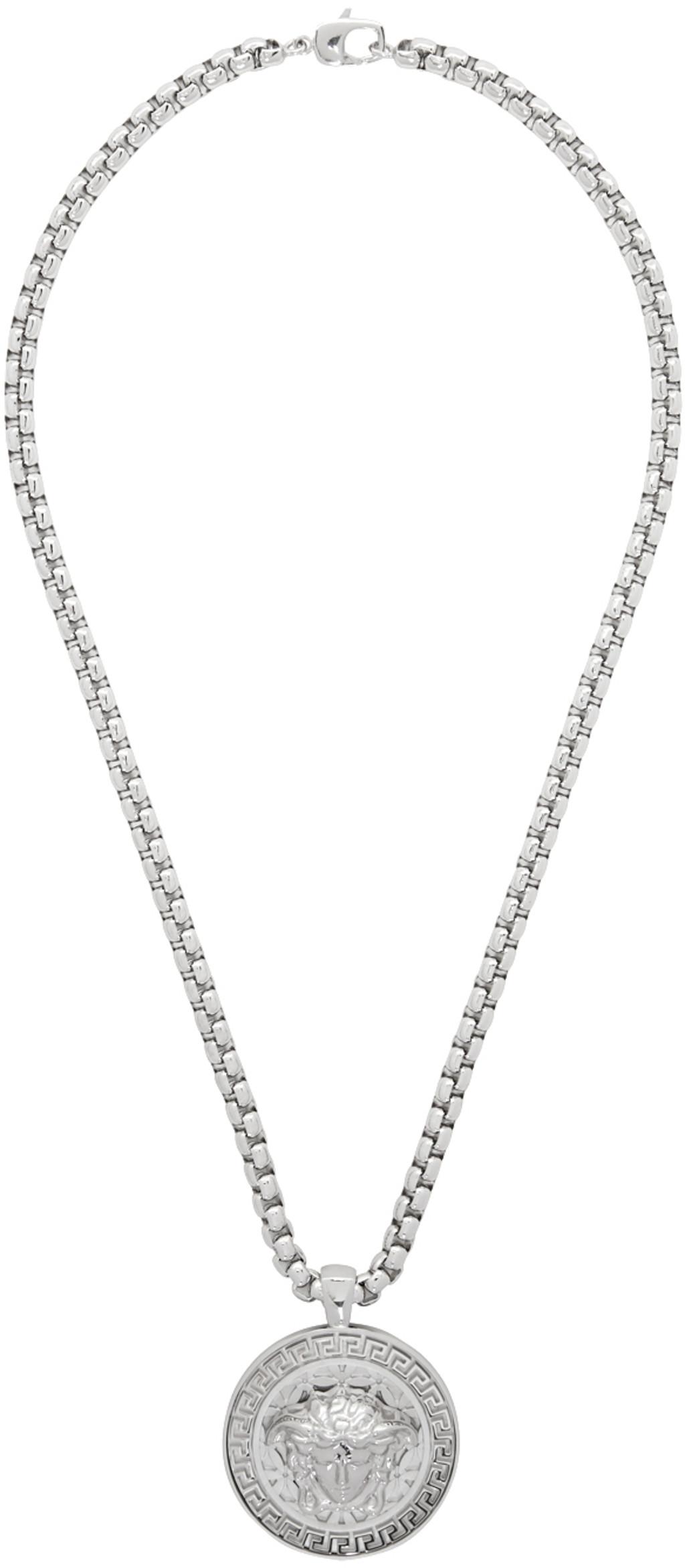 1f46a112c8 Silver Medusa Necklace