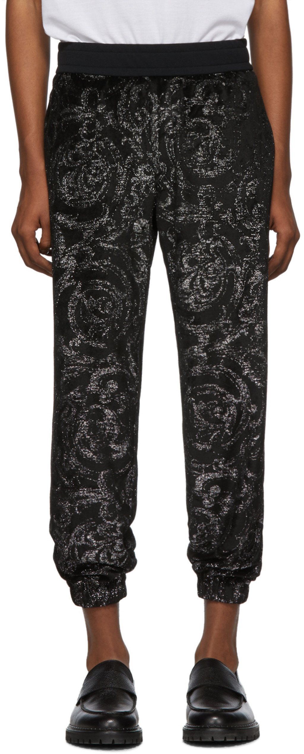 23f8d01477 Black Barocco Lounge Pants