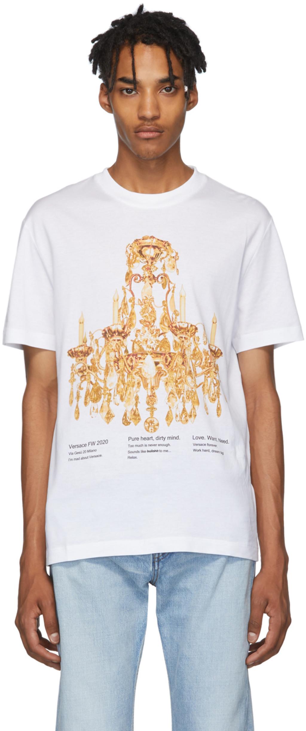 f2d81a8831 White Chandelier T-Shirt