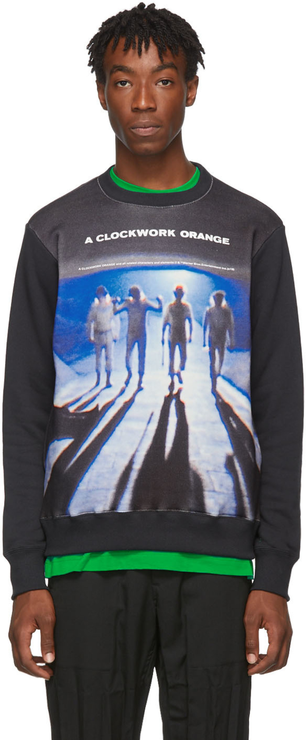 774d6f3fec Black A Clockwork Orange Edition Sweatshirt