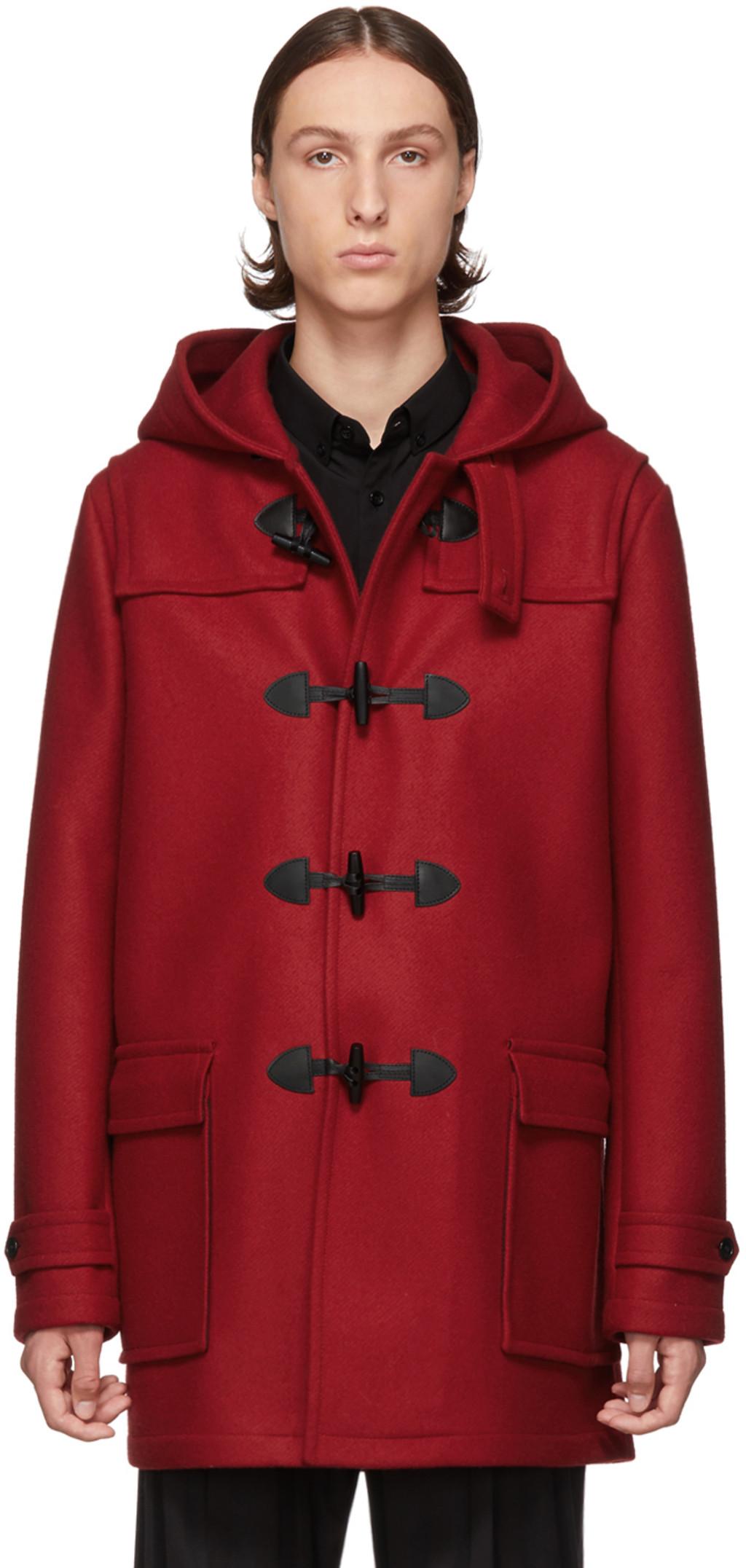 bbd403fd Red Duffle Coat