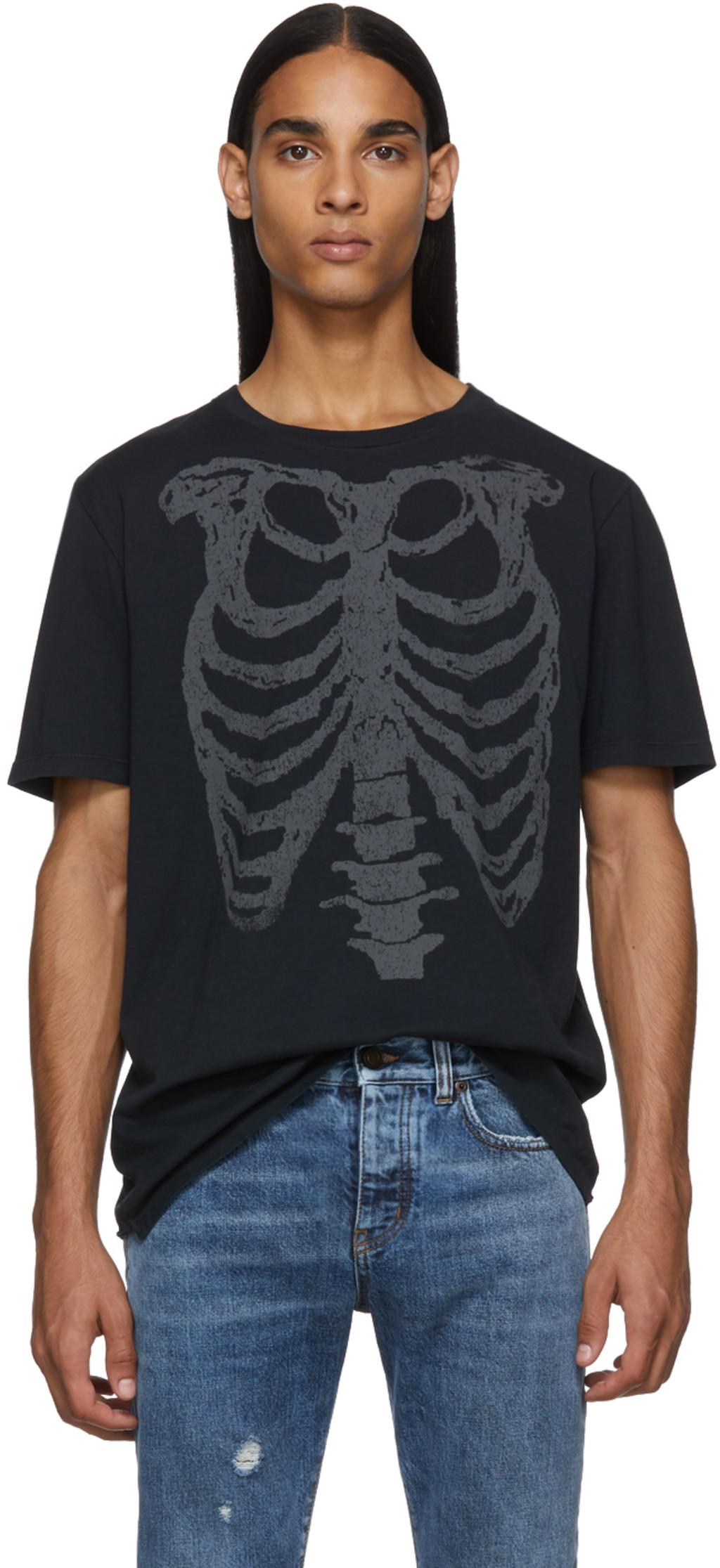 0cc108d3f1 Black Skeleton T-Shirt