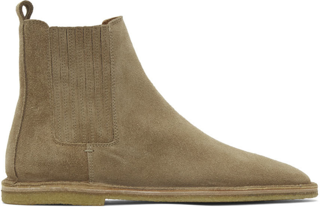 d64f272813a Beige Suede Nino Chelsea Boots