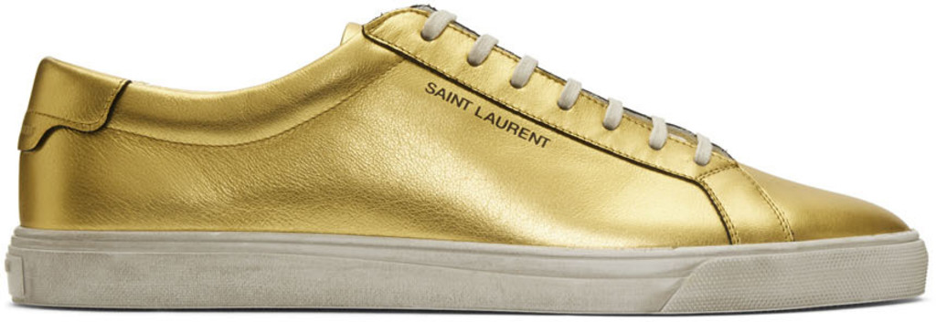 80877c0c Gold Andy Sneakers