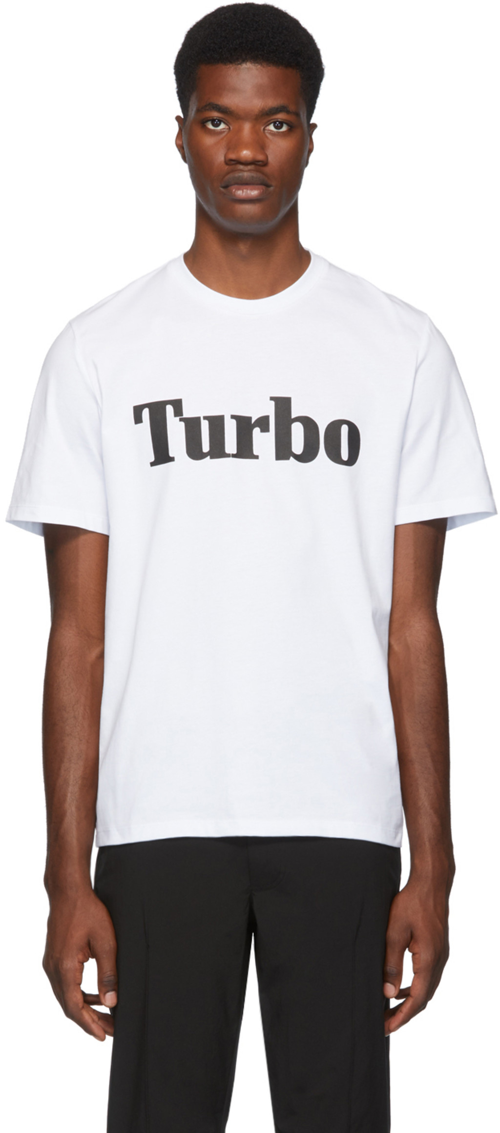3aae983d5 White 'Turbo' T-Shirt