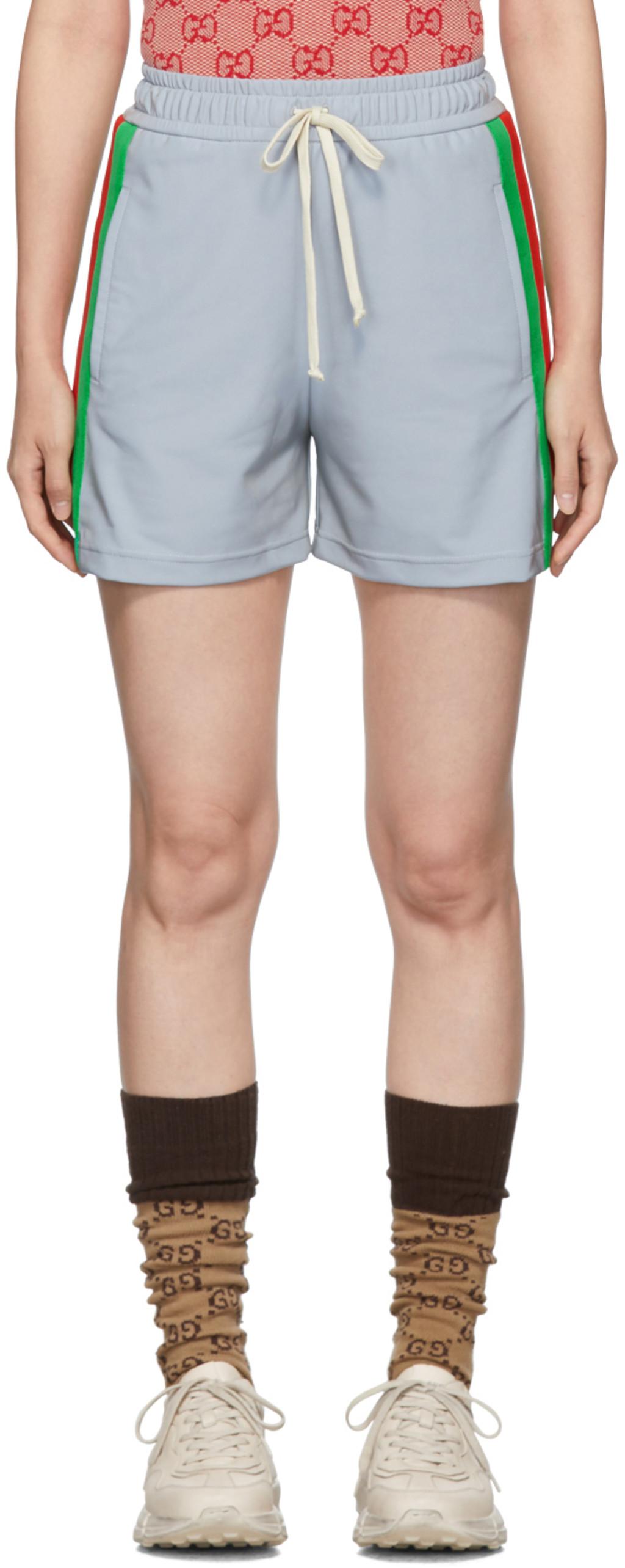 c53a864c Silver Reflective Shorts