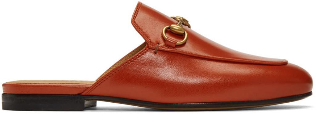 4dcf198e46 Orange Princetown Slippers