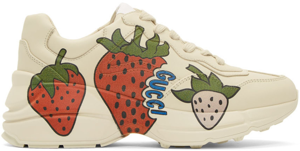 360ccaf12a Off-White Strawberry Rhyton Sneakers