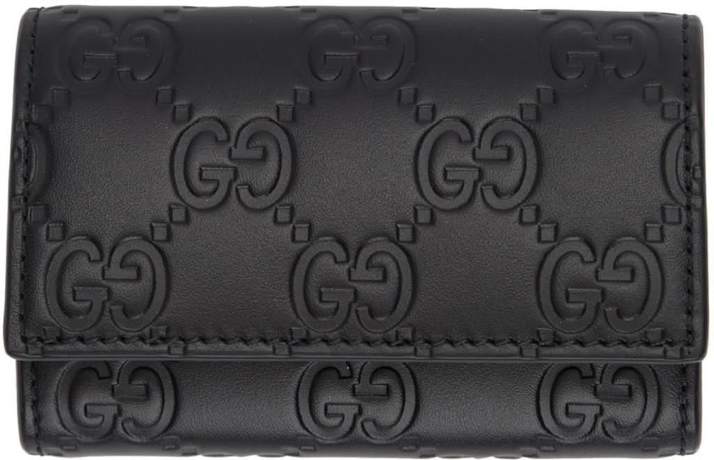 d2d034368a Black 'Gucci Signature' Key Case