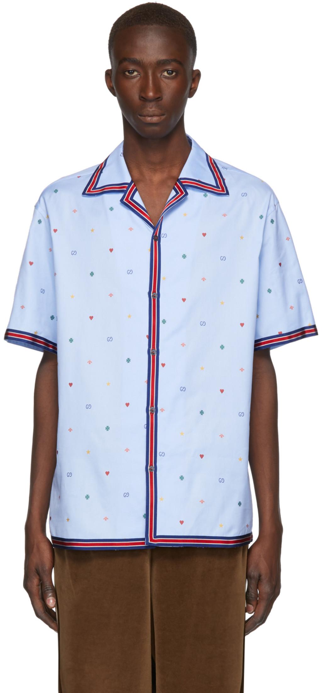 93e91e129 Gucci shirts for Men | SSENSE