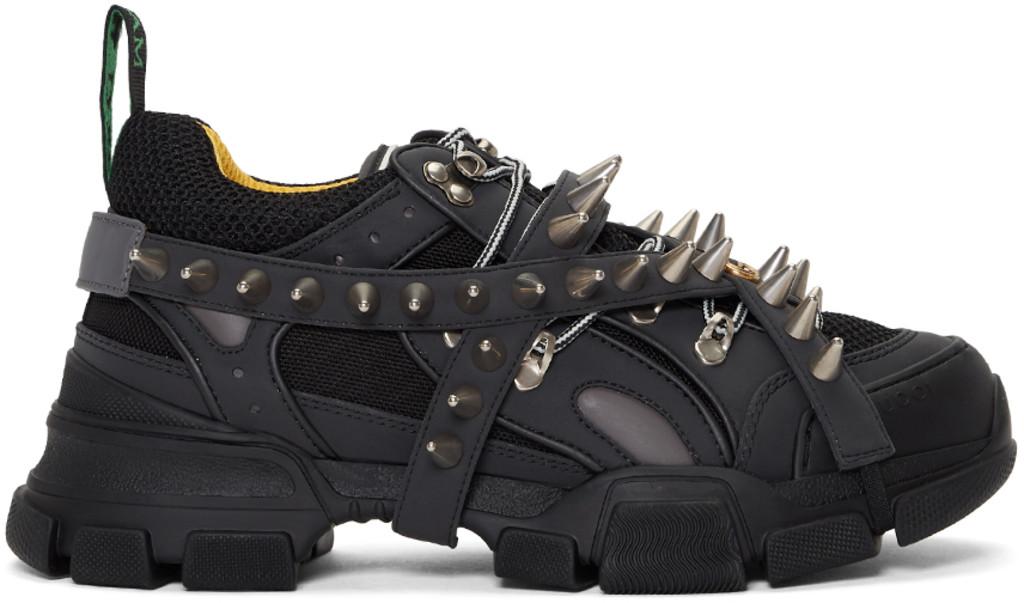 f004ba79e5 Black Removable Studs Flashtrek Sneakers