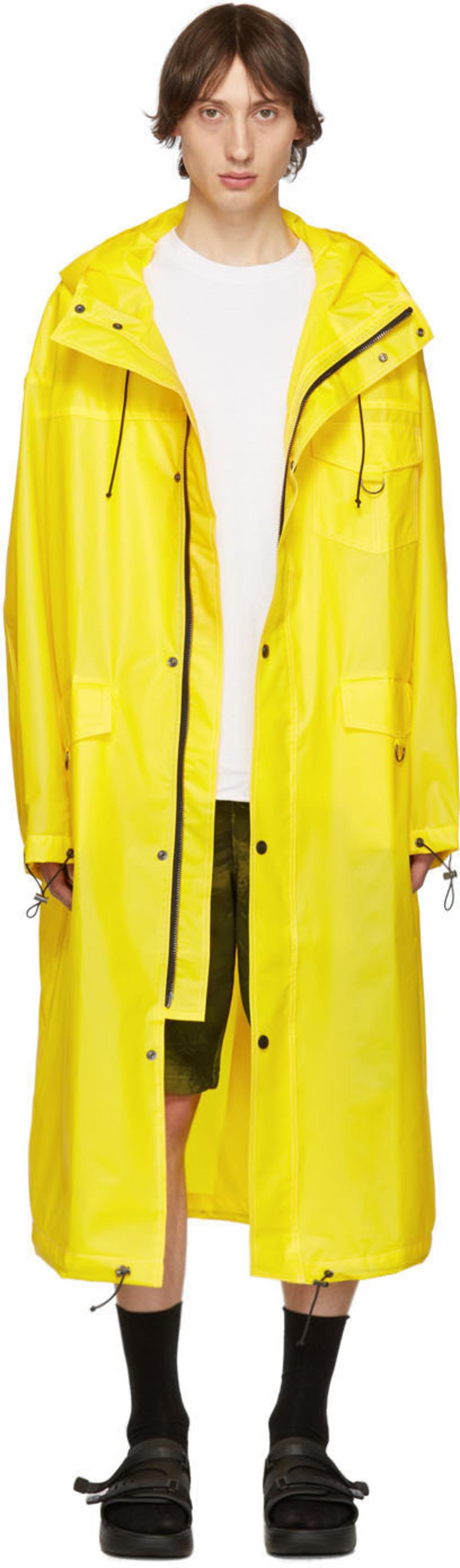 69407906ea Yellow Logo Raincoat