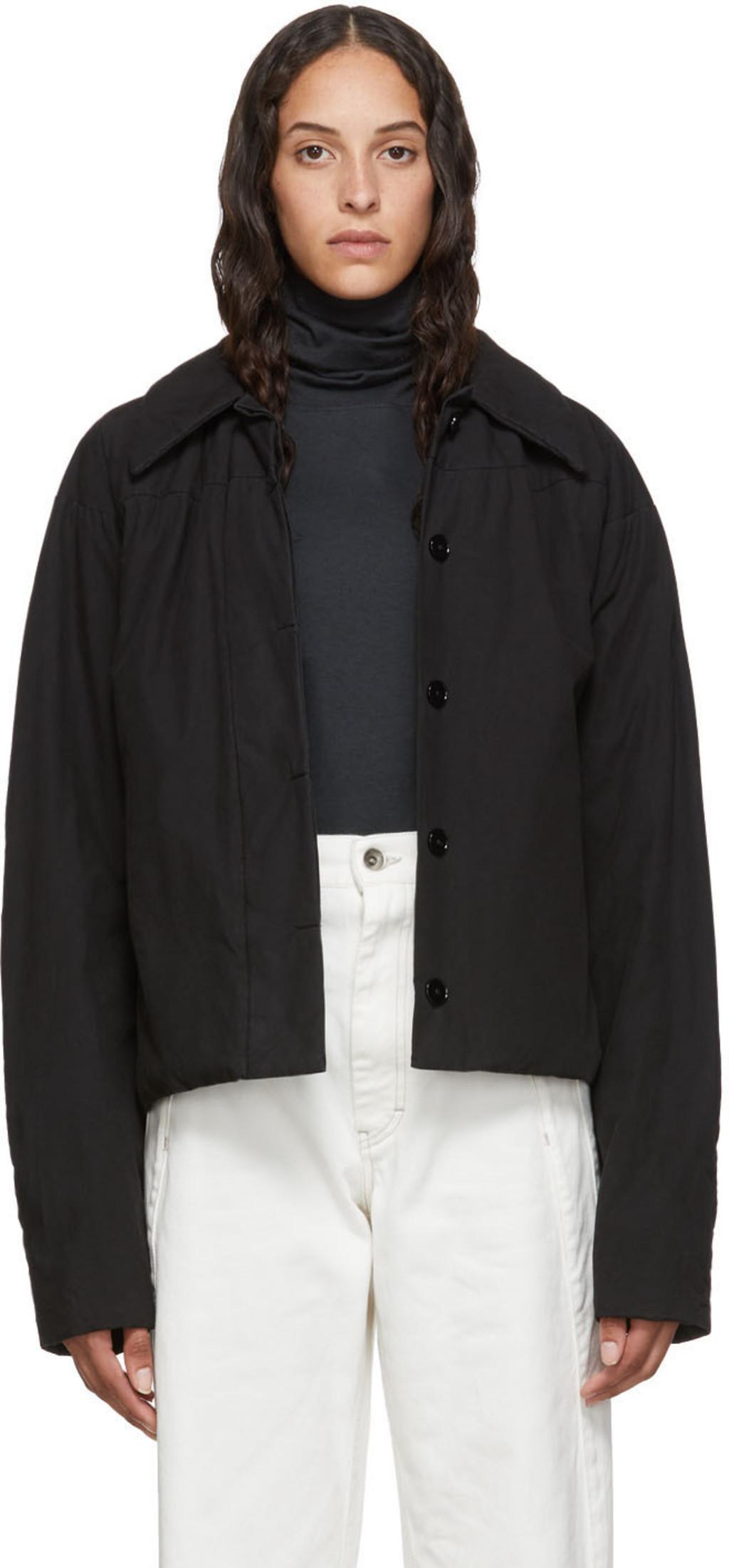 7e84cbf80 Black Blouson Jacket
