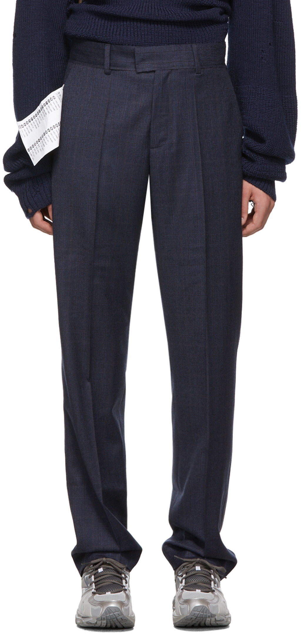 Navy New Classic Trousers