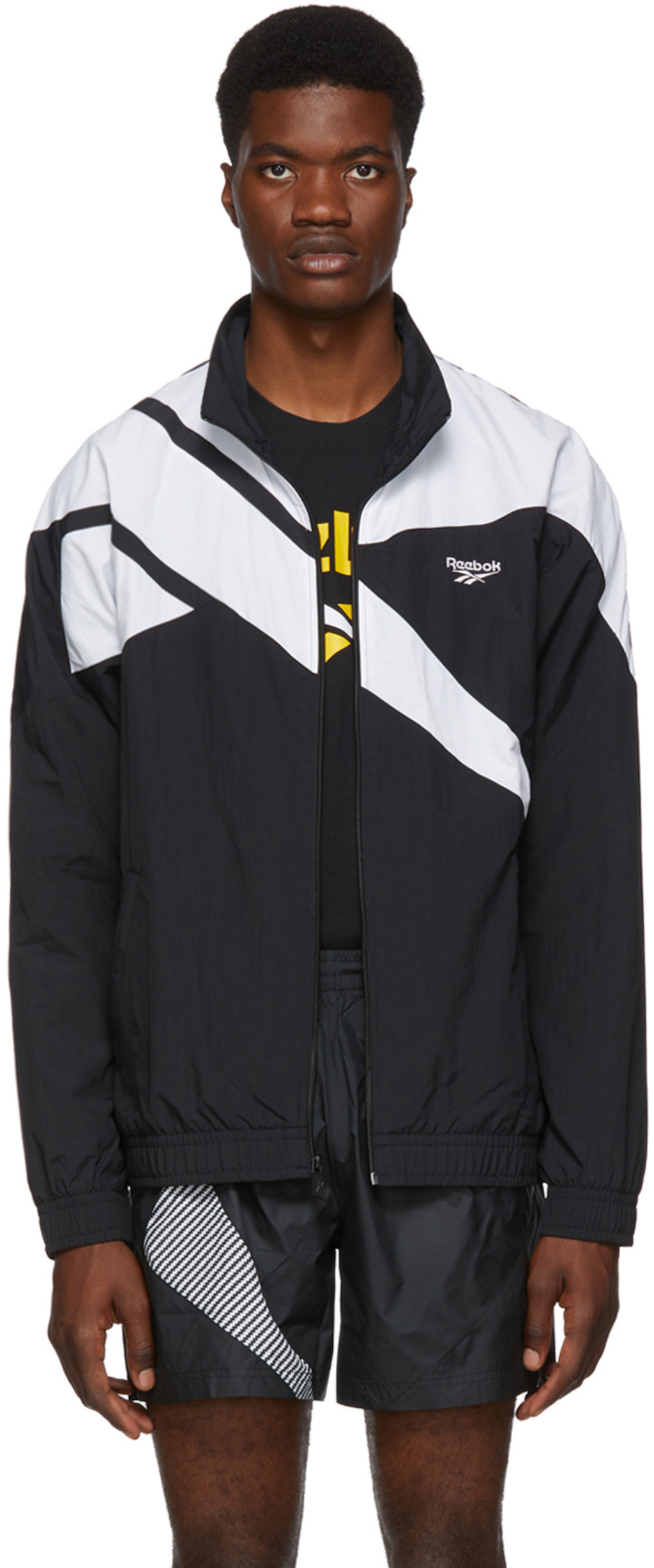 e77084e0ad Black & White Vector Track Jacket