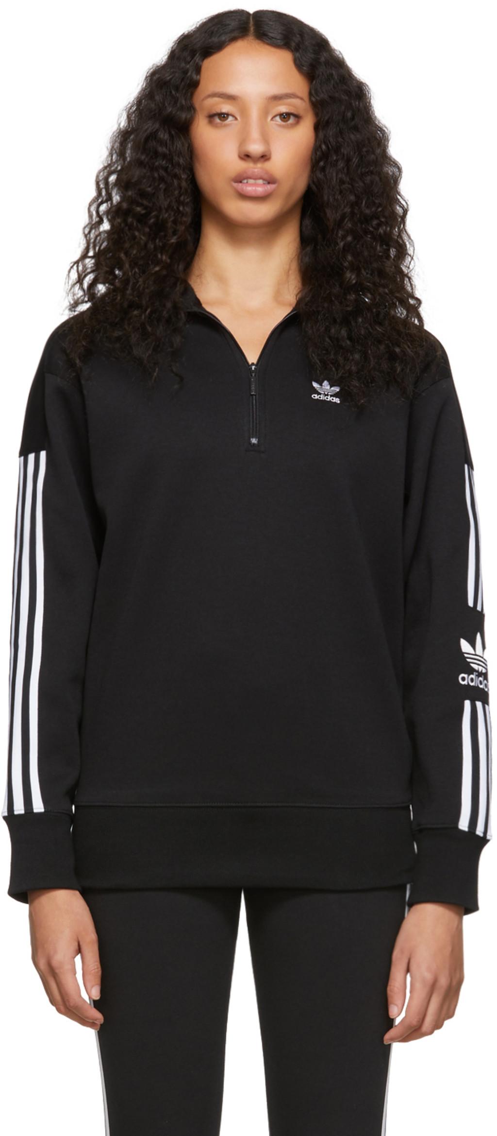 4f4a8d0d79 Black Half-Zip Sweater