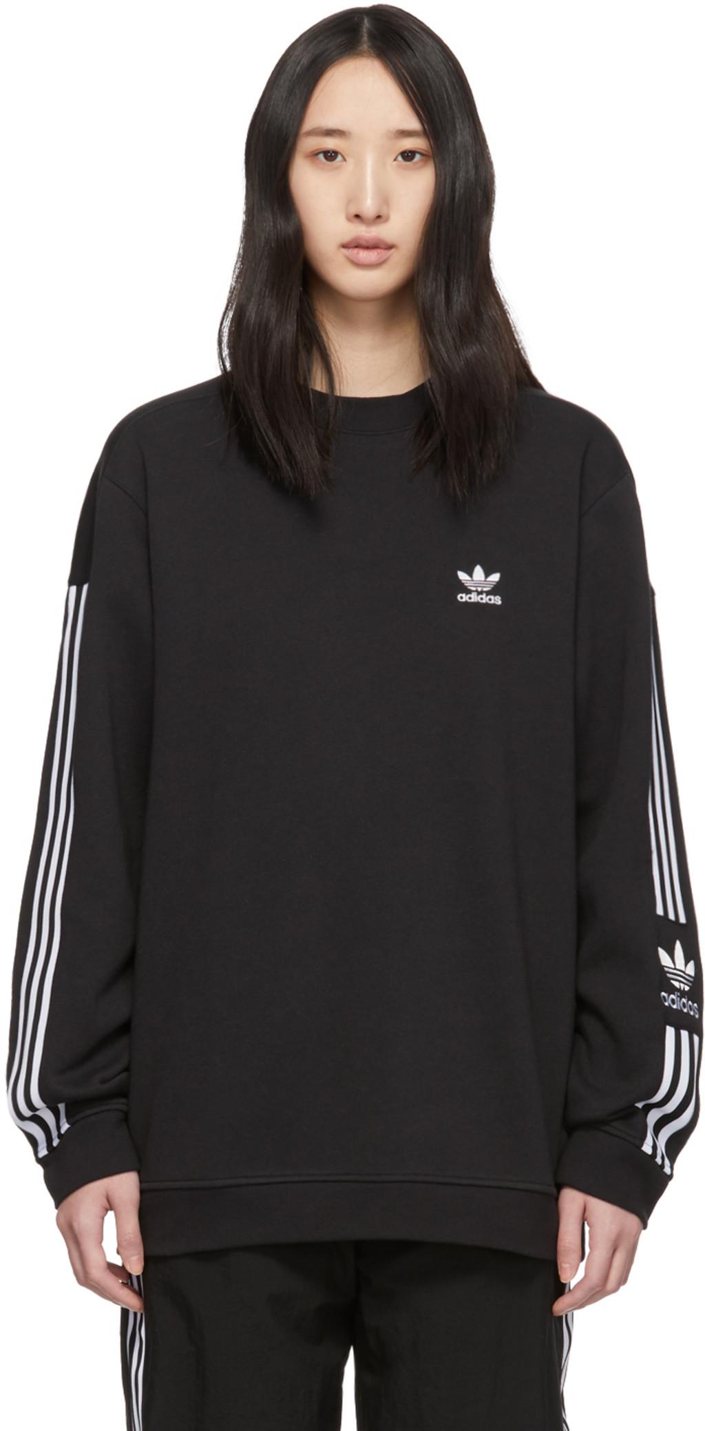 b00e950337 Black Lock Up Sweatshirt
