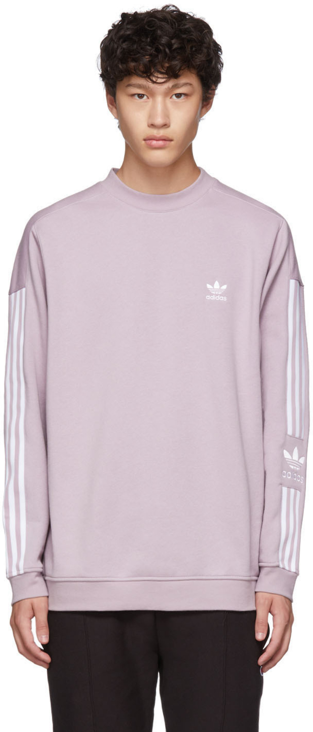 9b1506959e Purple Lock Up Crew Sweatshirt