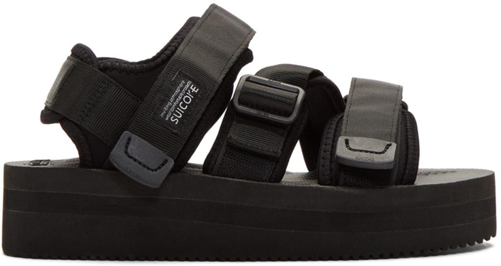premium selection 33dab 0c1b8 Black Kisee-VPO Sandals