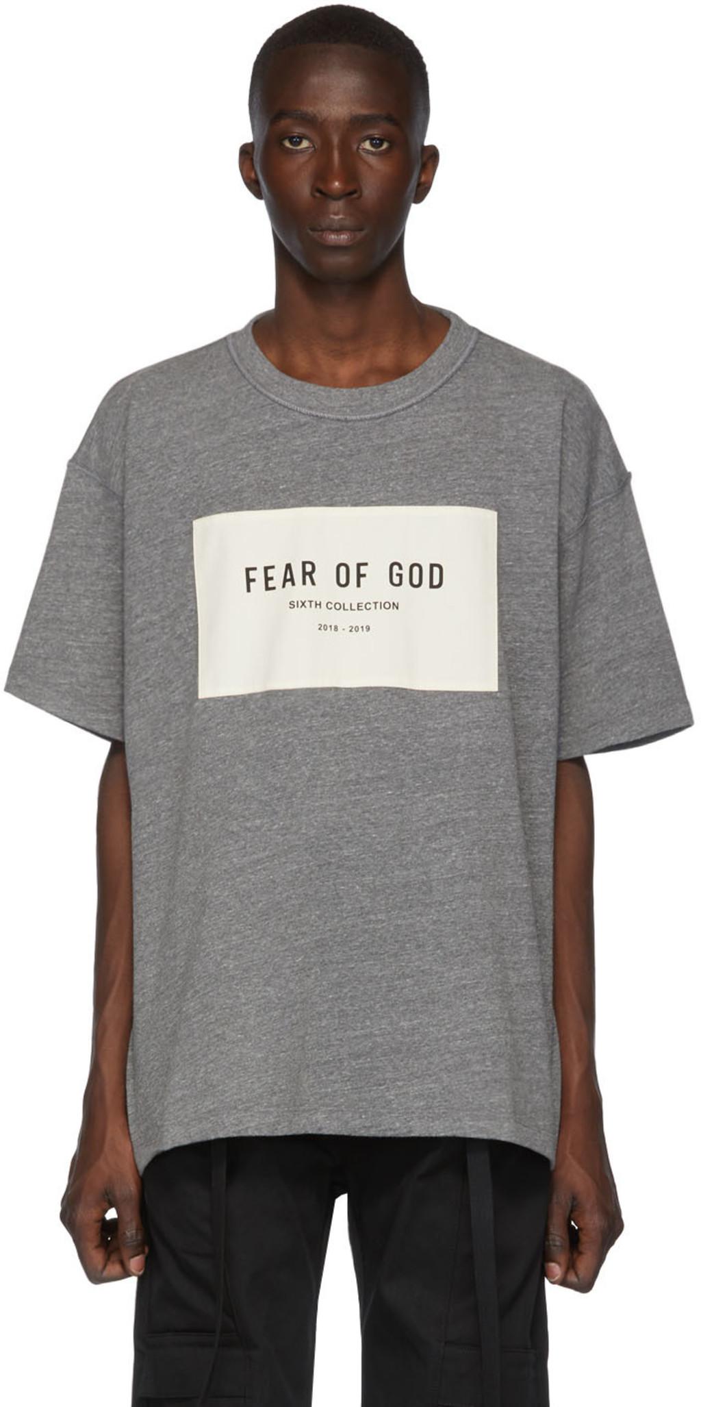 0724b634a Grey 'Sixth Collection' T-Shirt