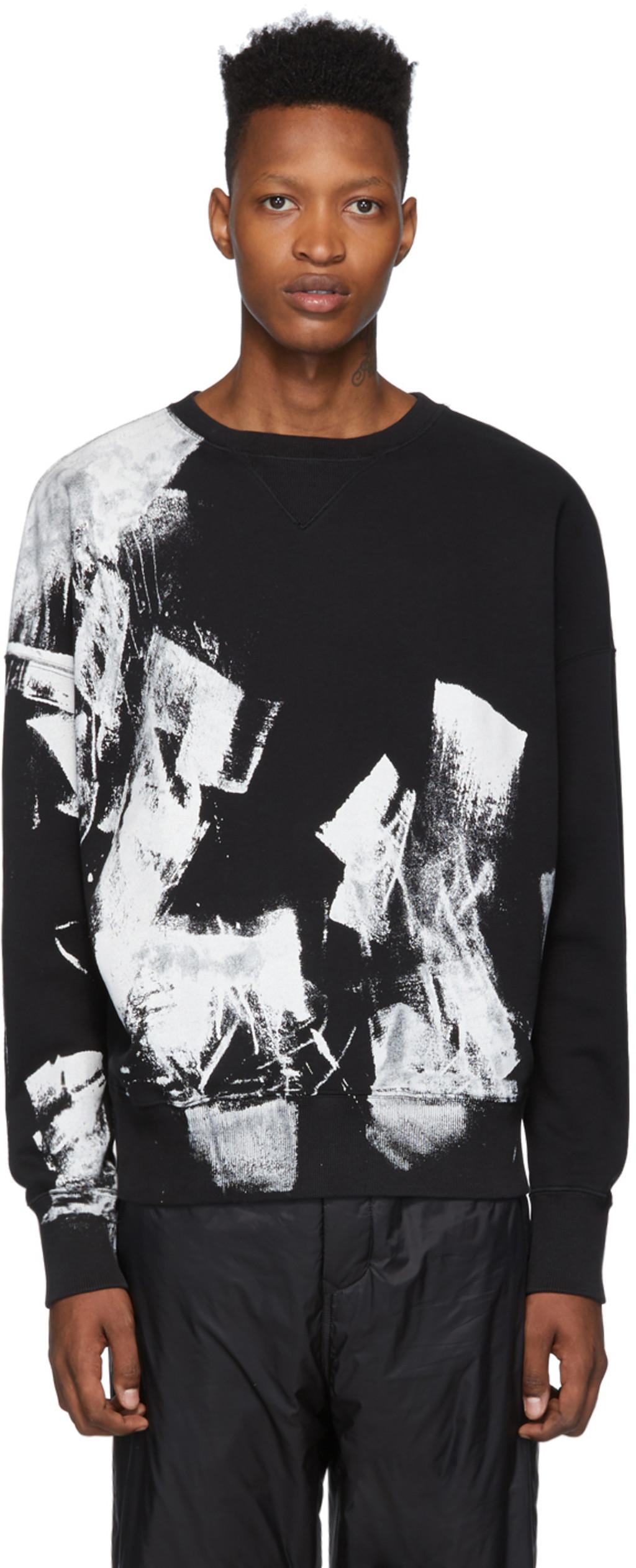 1432403c90 White & Black Tag Sweatshirt