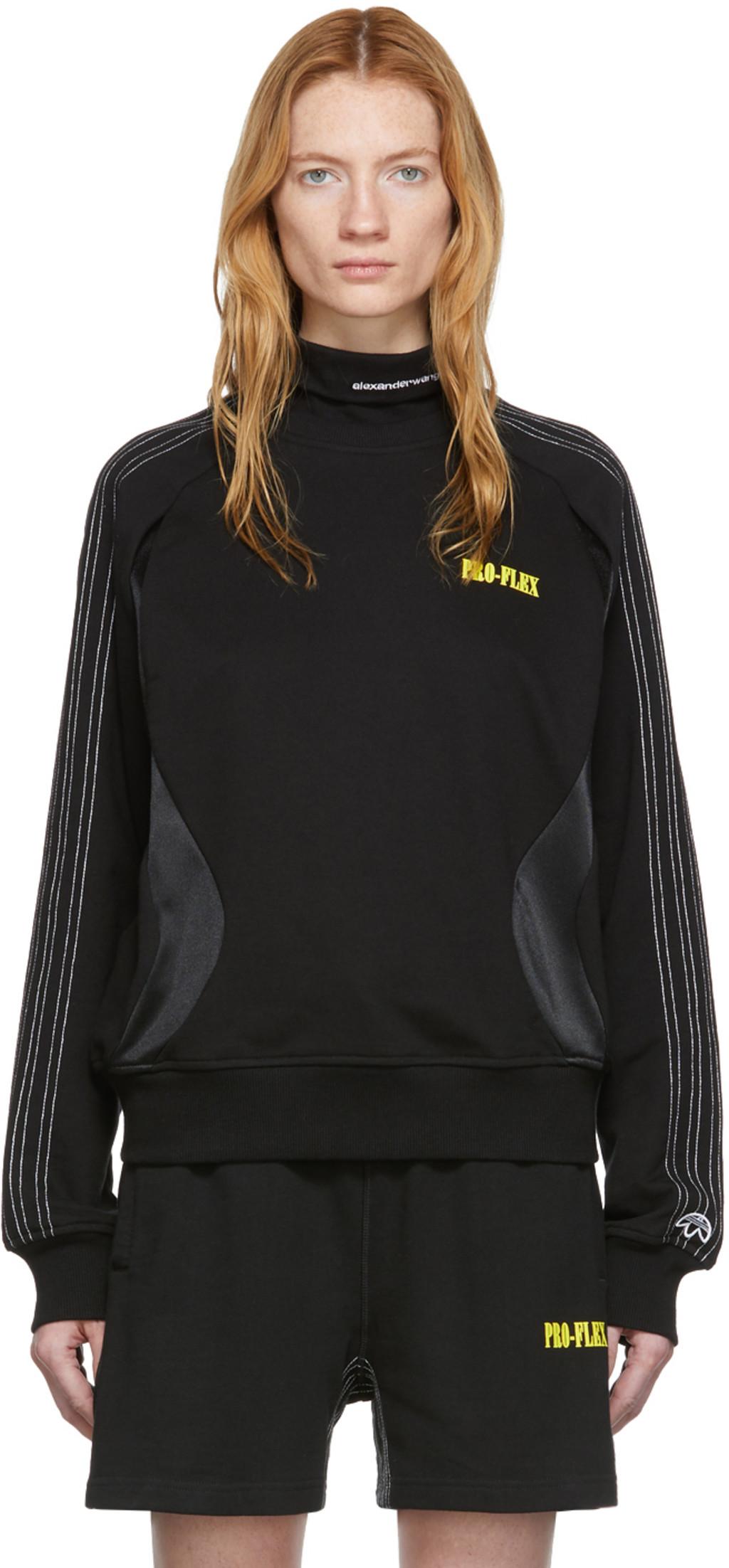 adidas Originals by Alexander Wang Crew Sweatshirt Black adidas Australia  adidas Australia