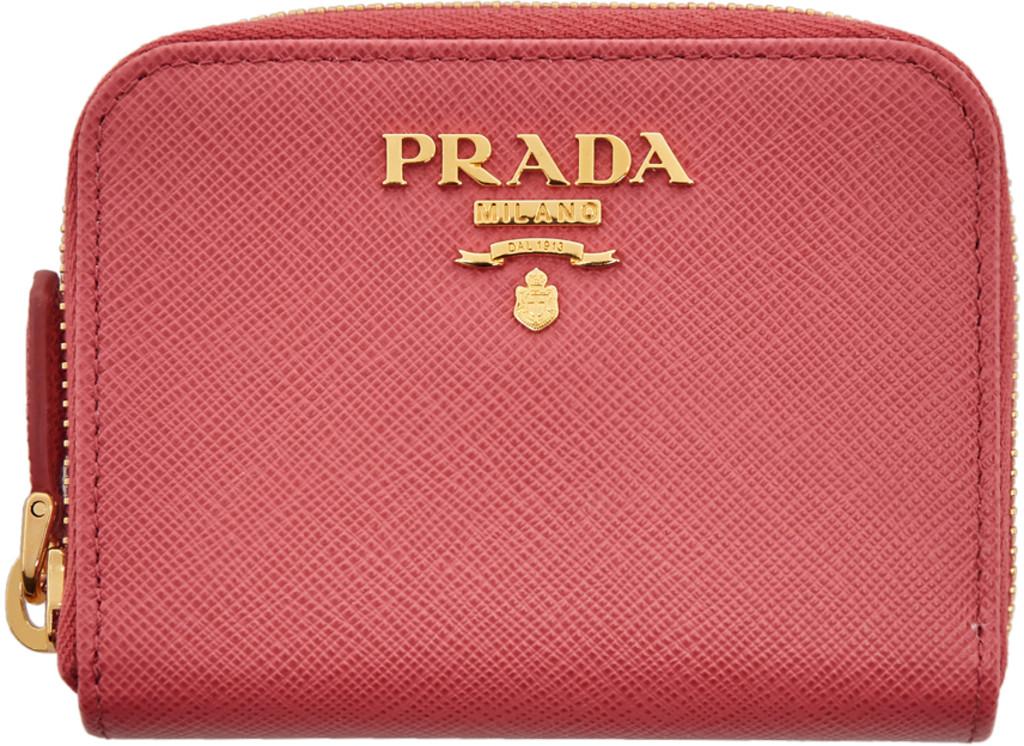 9ba0a117ec Pink Mini Zip Around Wallet