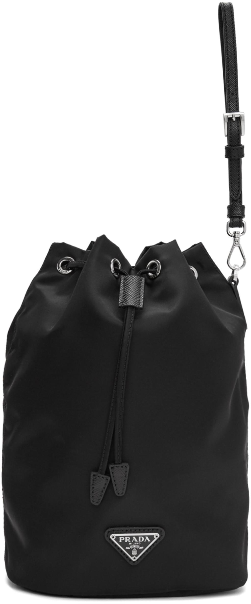 349f5502 Black Bucket Pouch