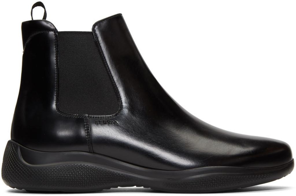 c4f0c82c35e Black Spazzolato Rois Chelsea Boots