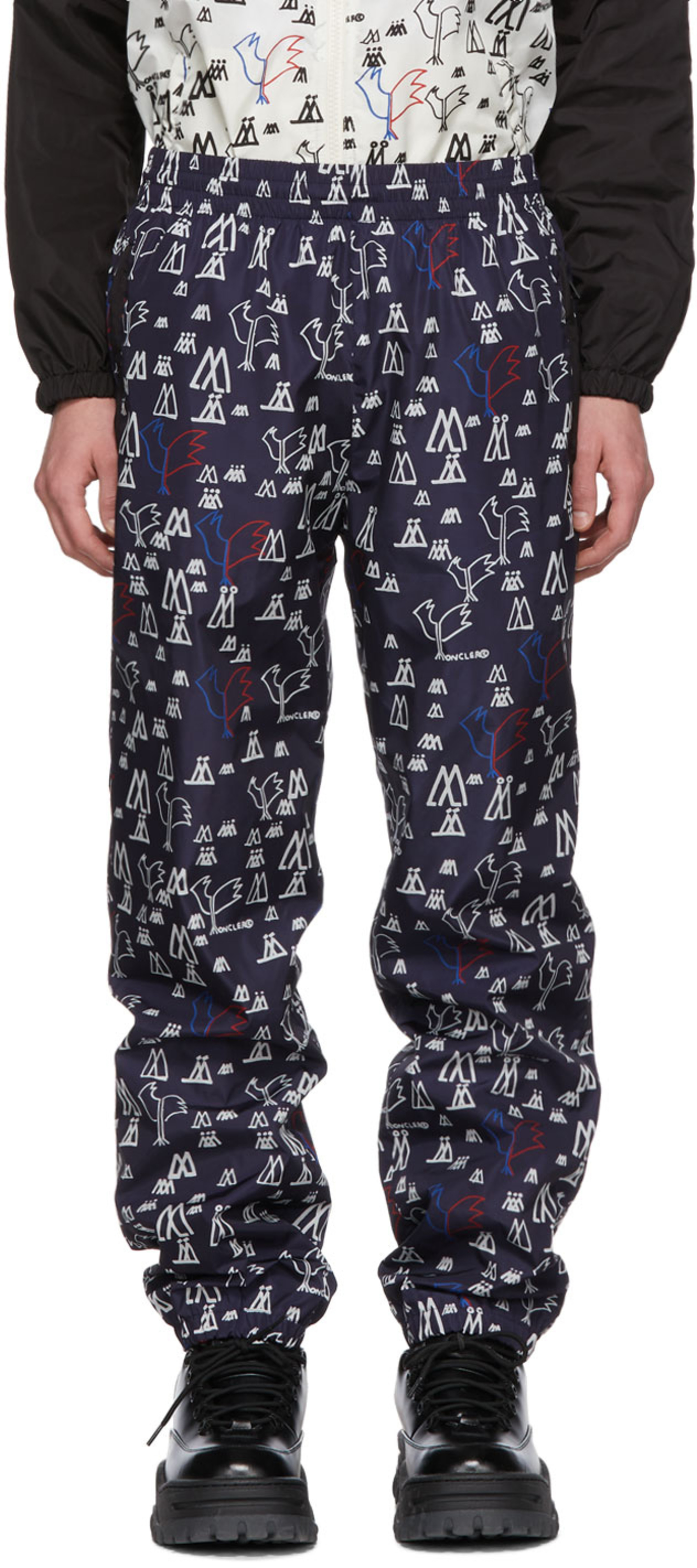 ed247b6f6218d Moncler pants for Men | SSENSE UK