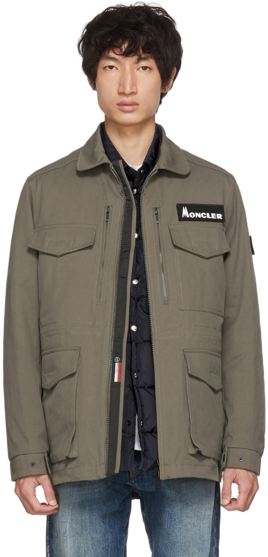 95875bbf3 7 Moncler Fragment Hiroshi Fujiwara Khaki Down Jacket