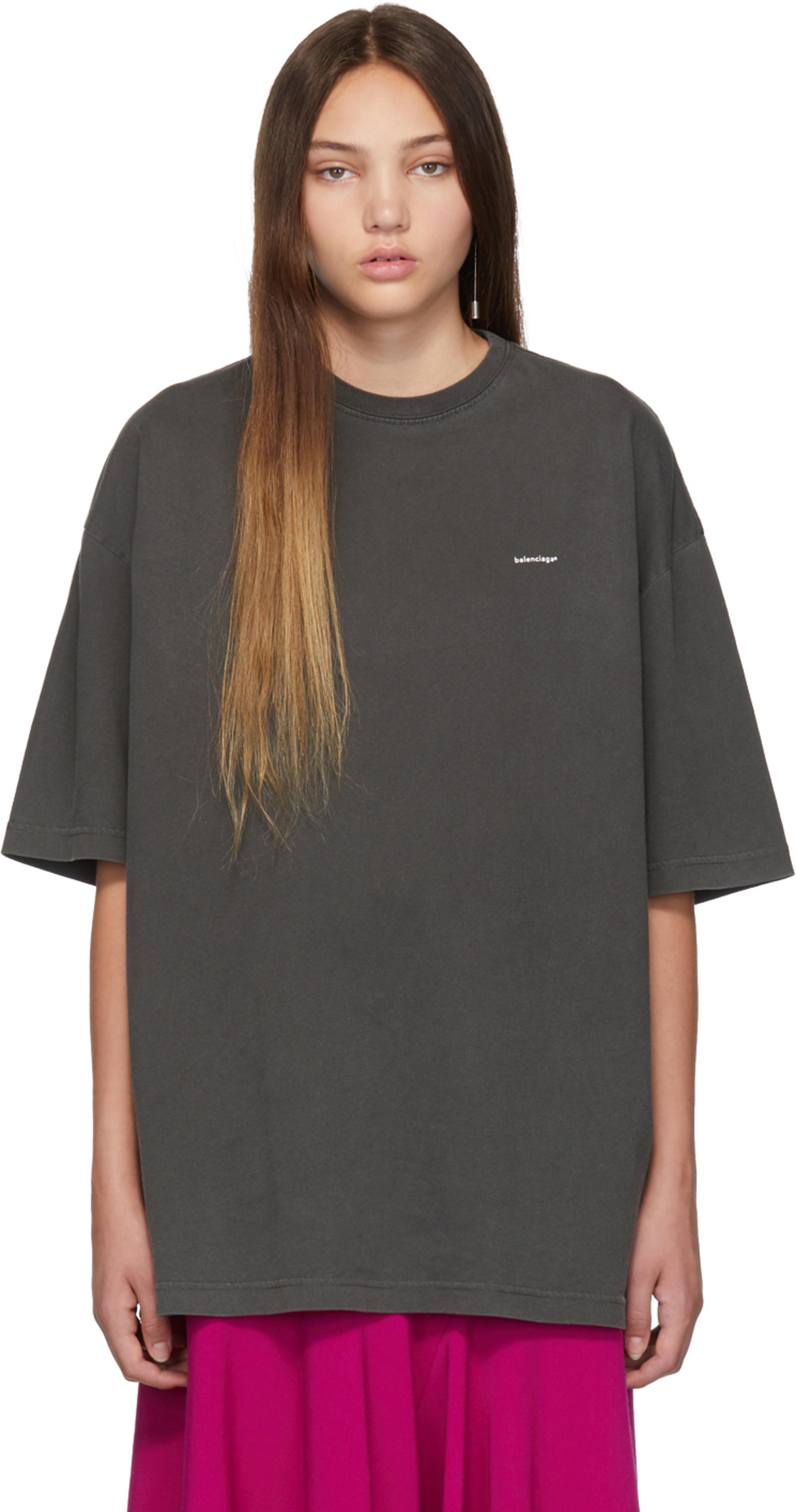 9ef5b9aa9637 Balenciaga t-shirts for Women | SSENSE