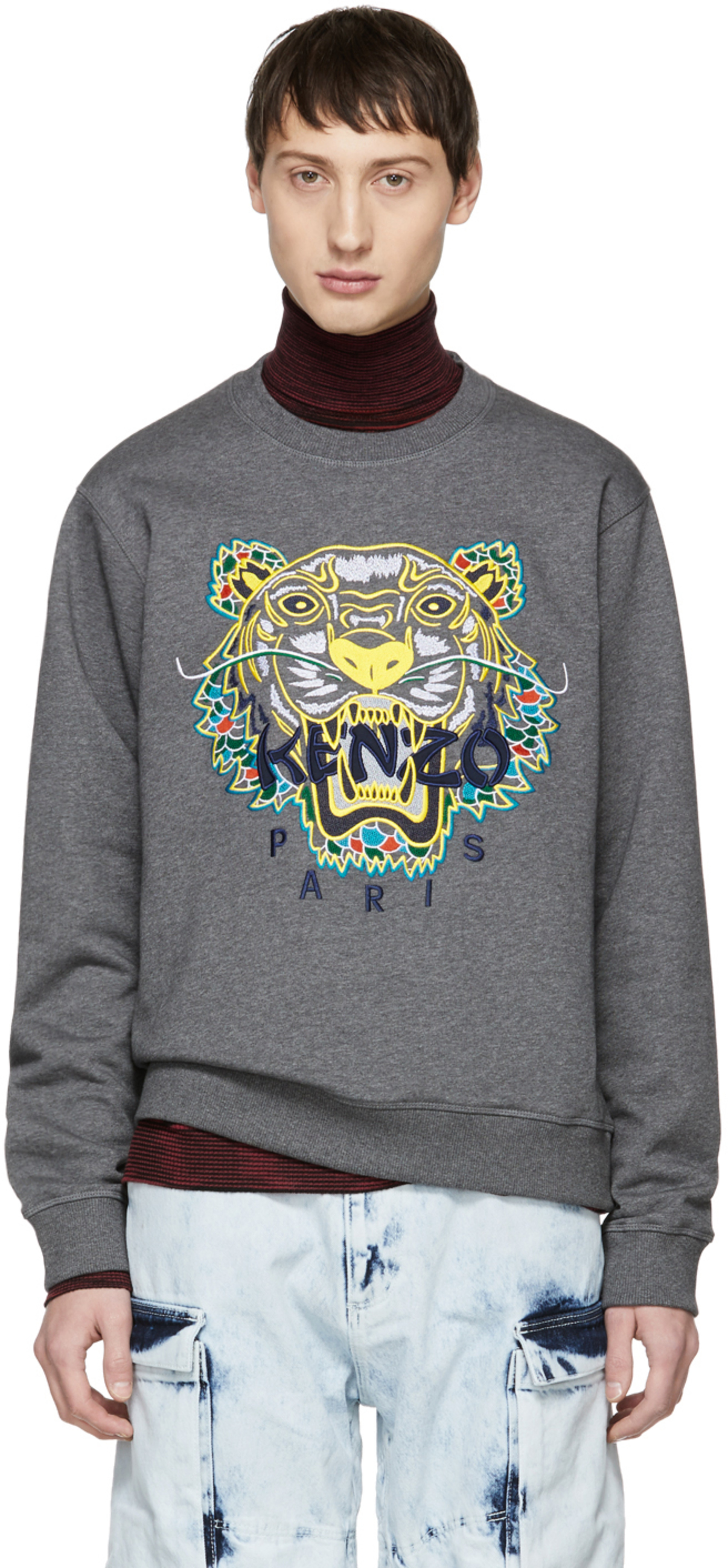 48bae6365 Kenzo sweatshirts for Men | SSENSE