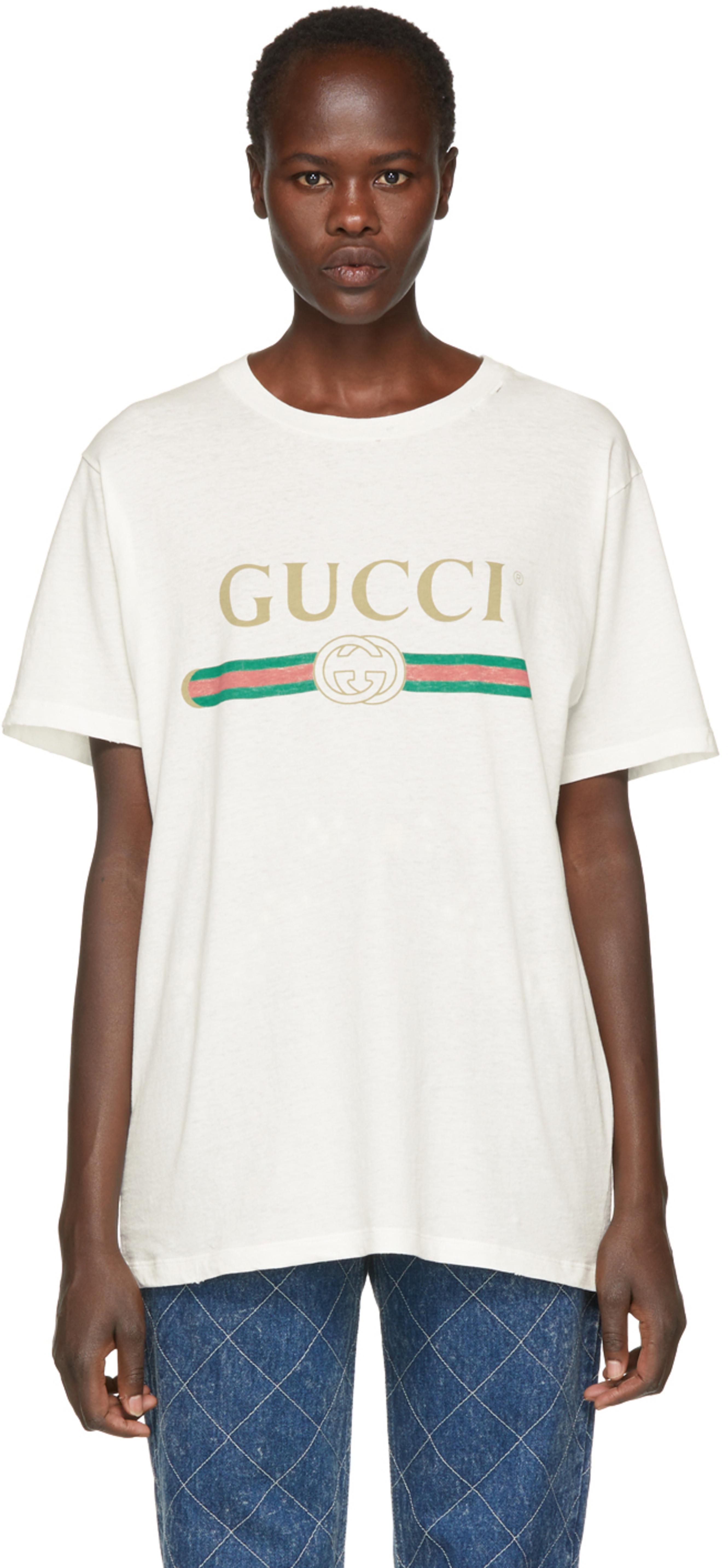 6e33921b4 Gucci t-shirts for Women | SSENSE