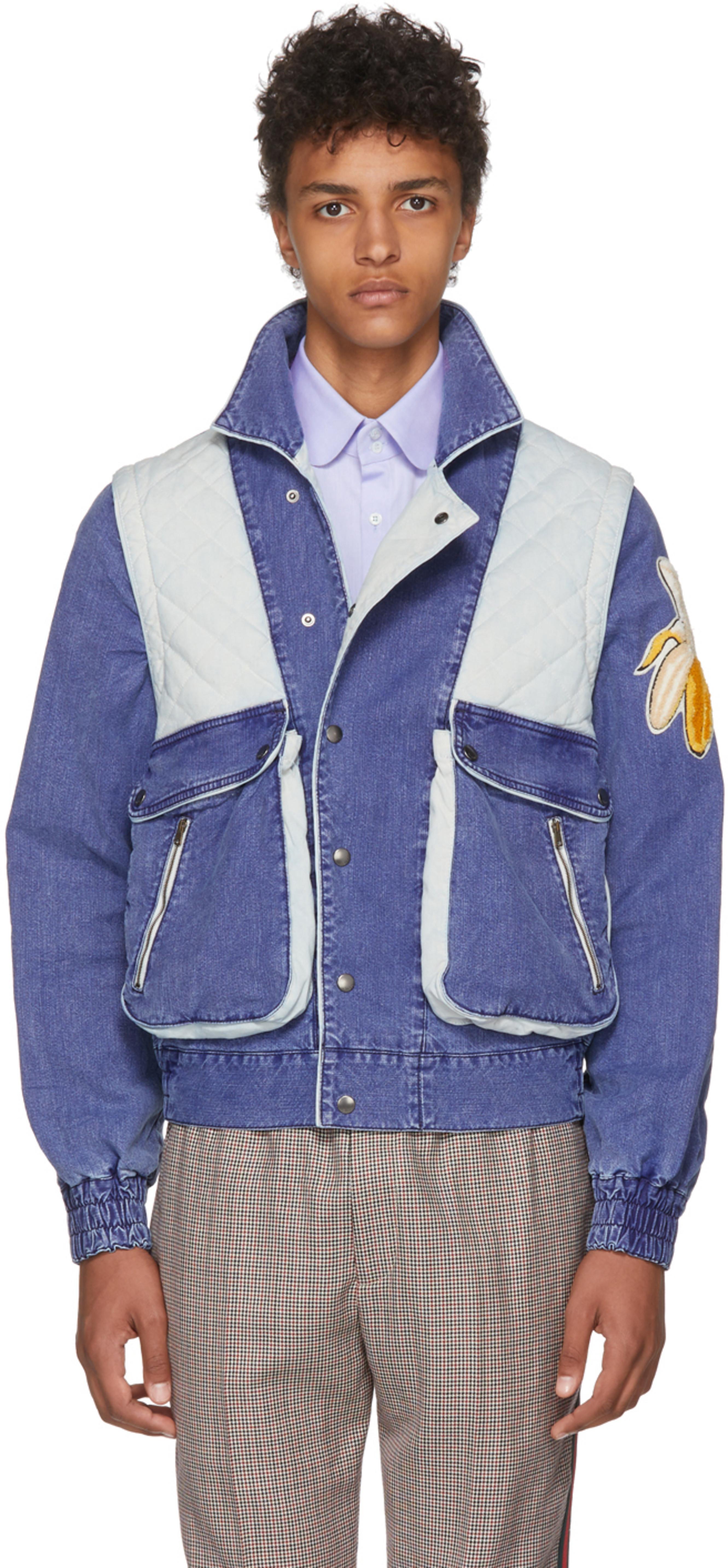 f9c3d55e4 Gucci denim jackets for Men   SSENSE