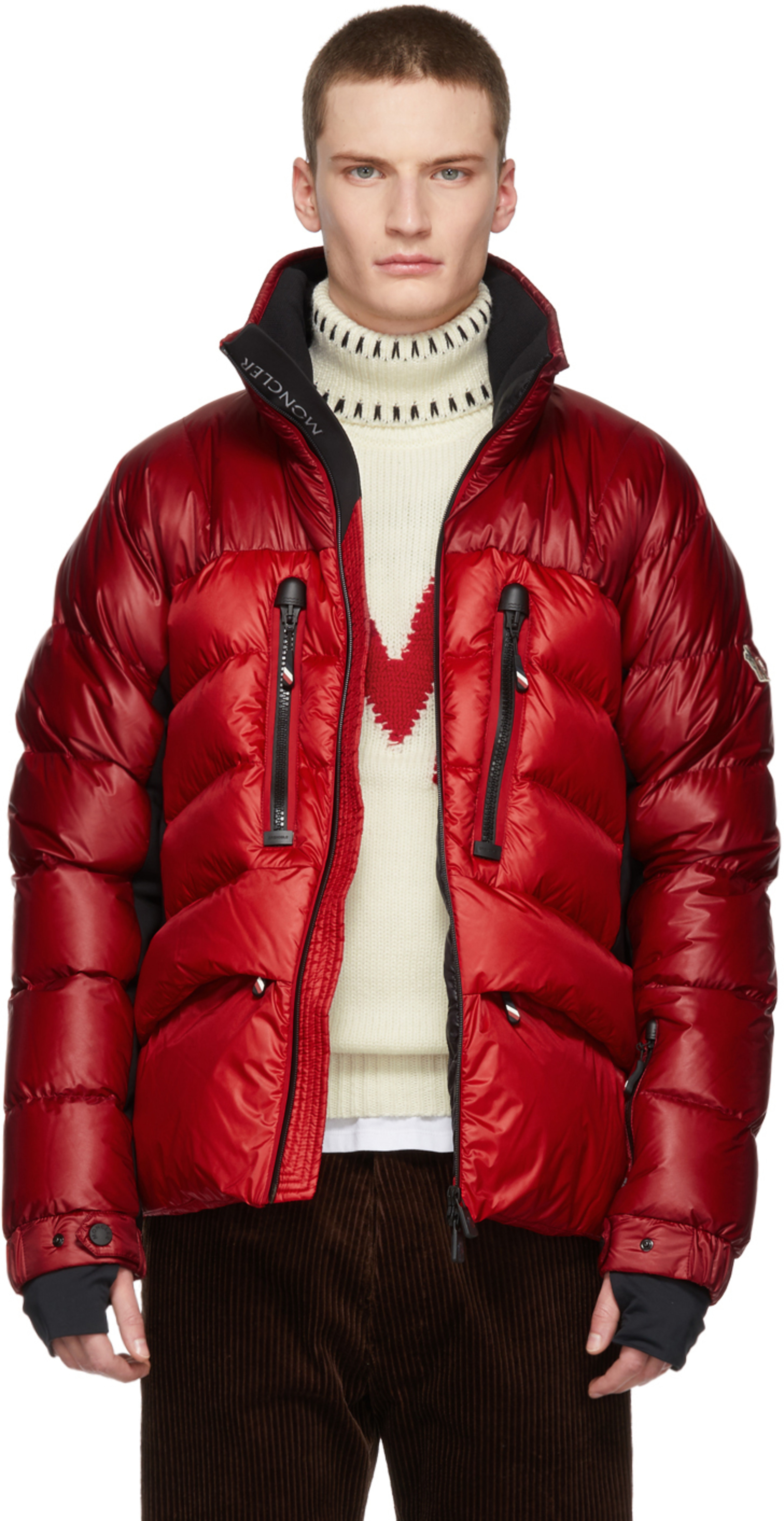 bc05e0d21 Red Down Braies Jacket
