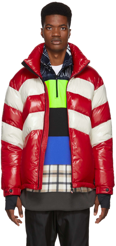 4d128291d Red & Off-White Down Golzern Jacket