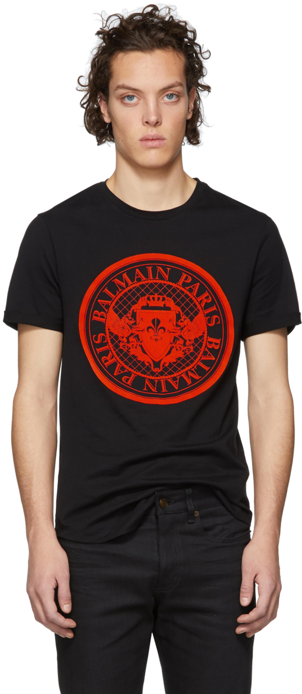 ad90951f6 Balmain t-shirts for Men | SSENSE