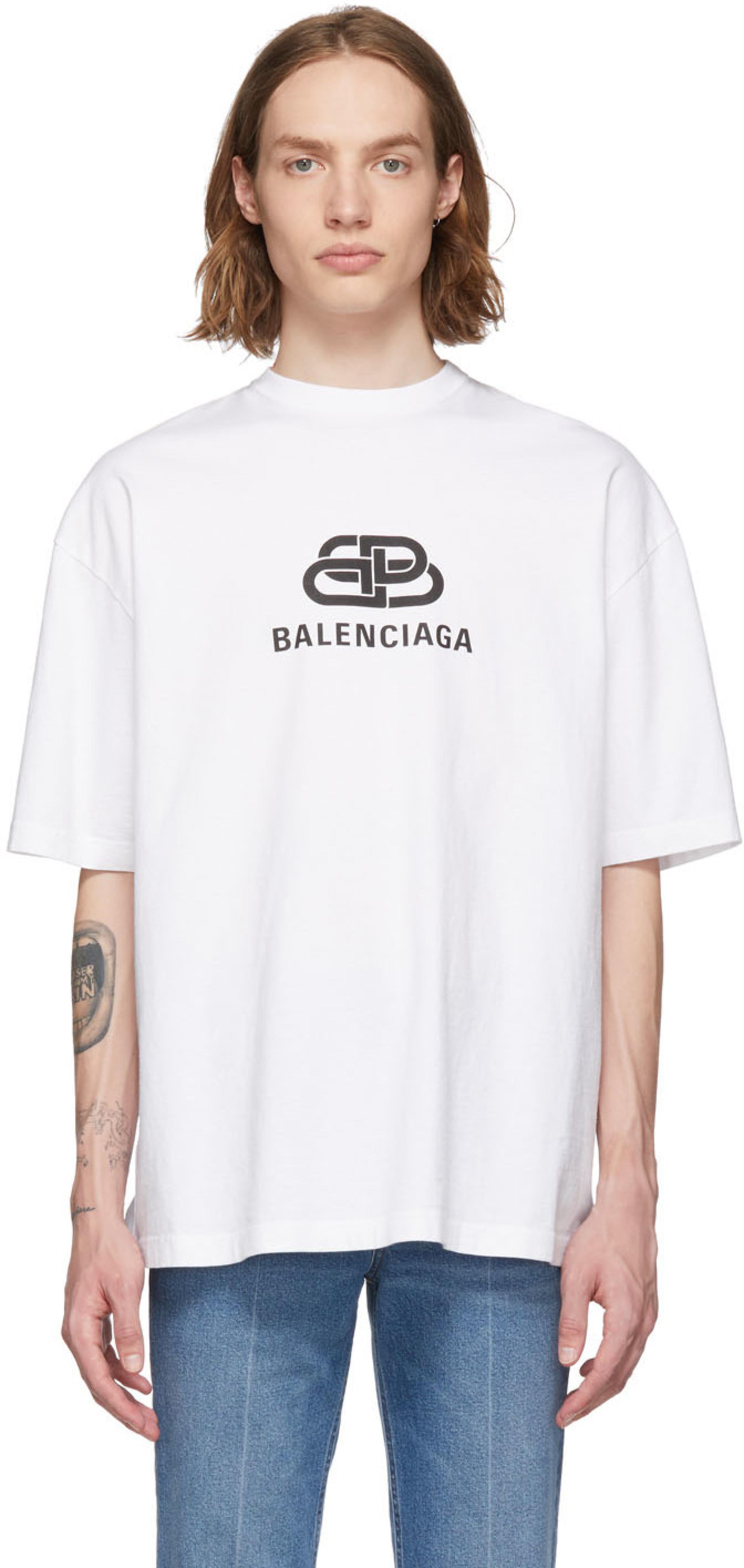 199f3d78 Balenciaga t-shirts for Men   SSENSE UK
