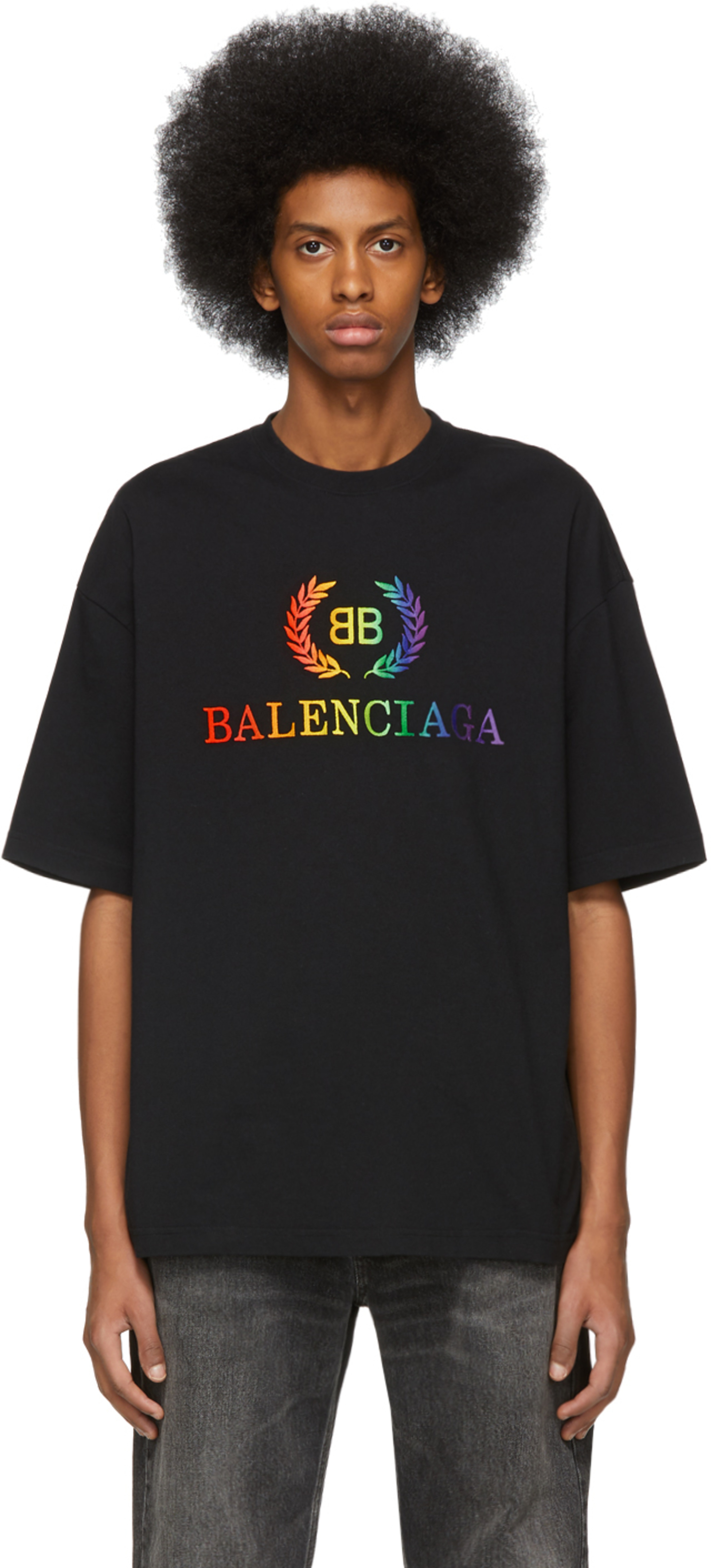 f1783b95 Balenciaga t-shirts for Men | SSENSE