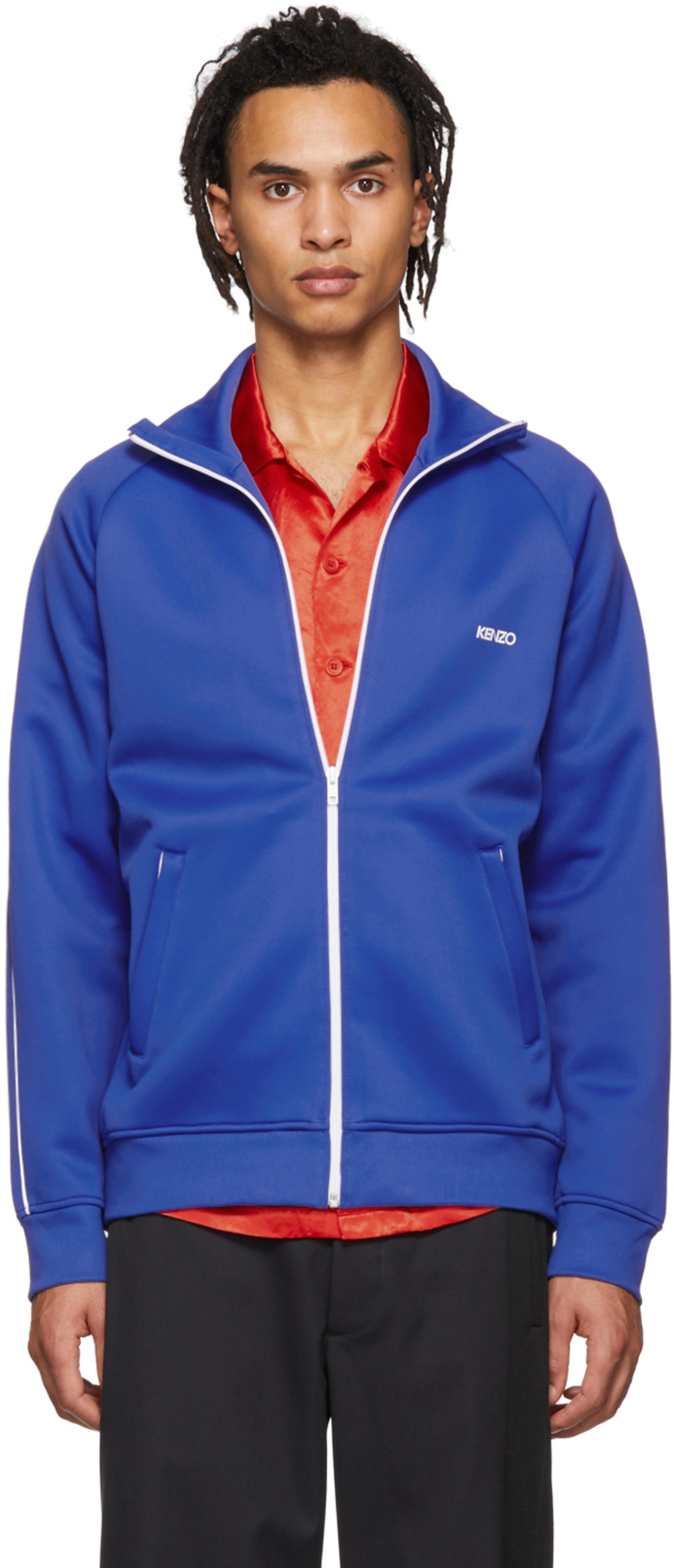5dad98111d Blue Tech Track Jacket