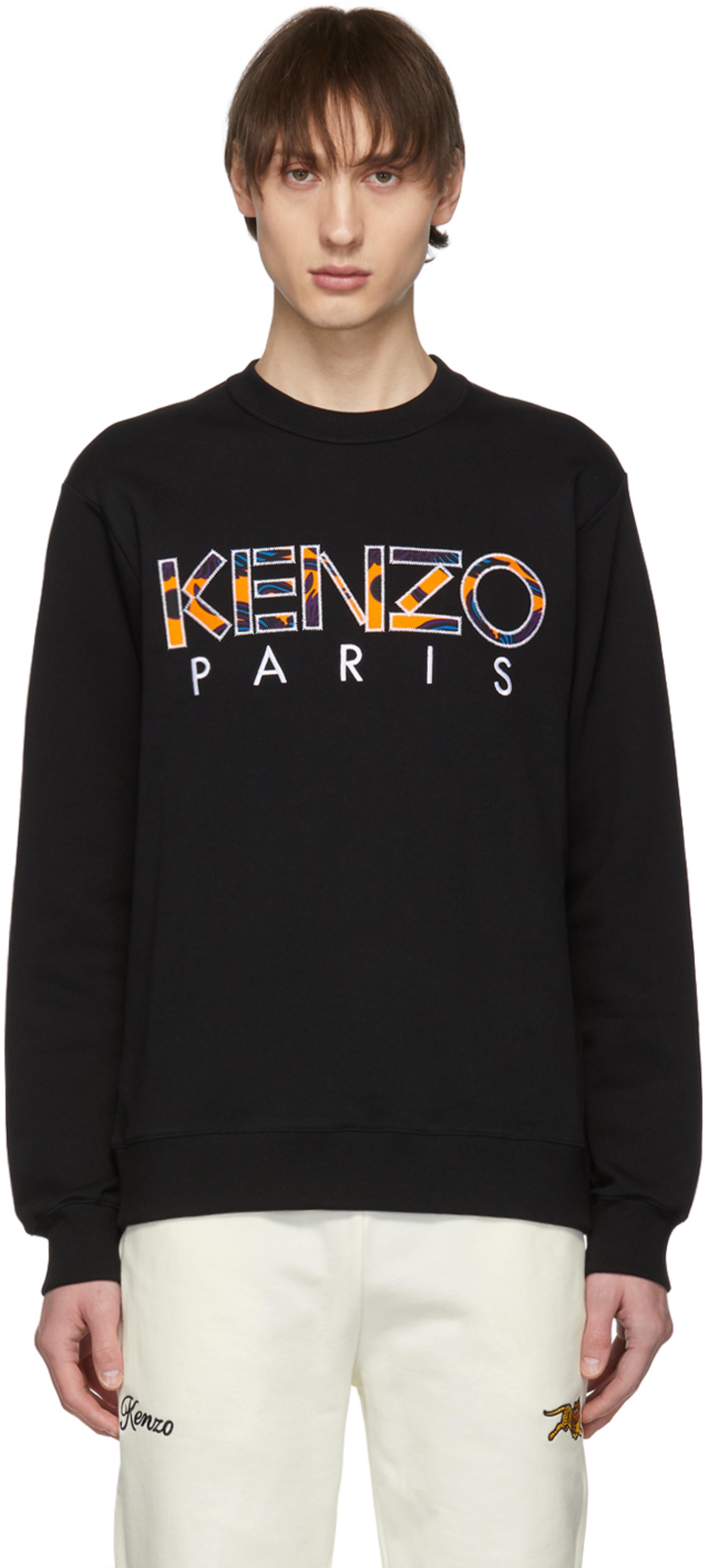 feb451c3 Black 'Kenzo Paris' Sweatshirt