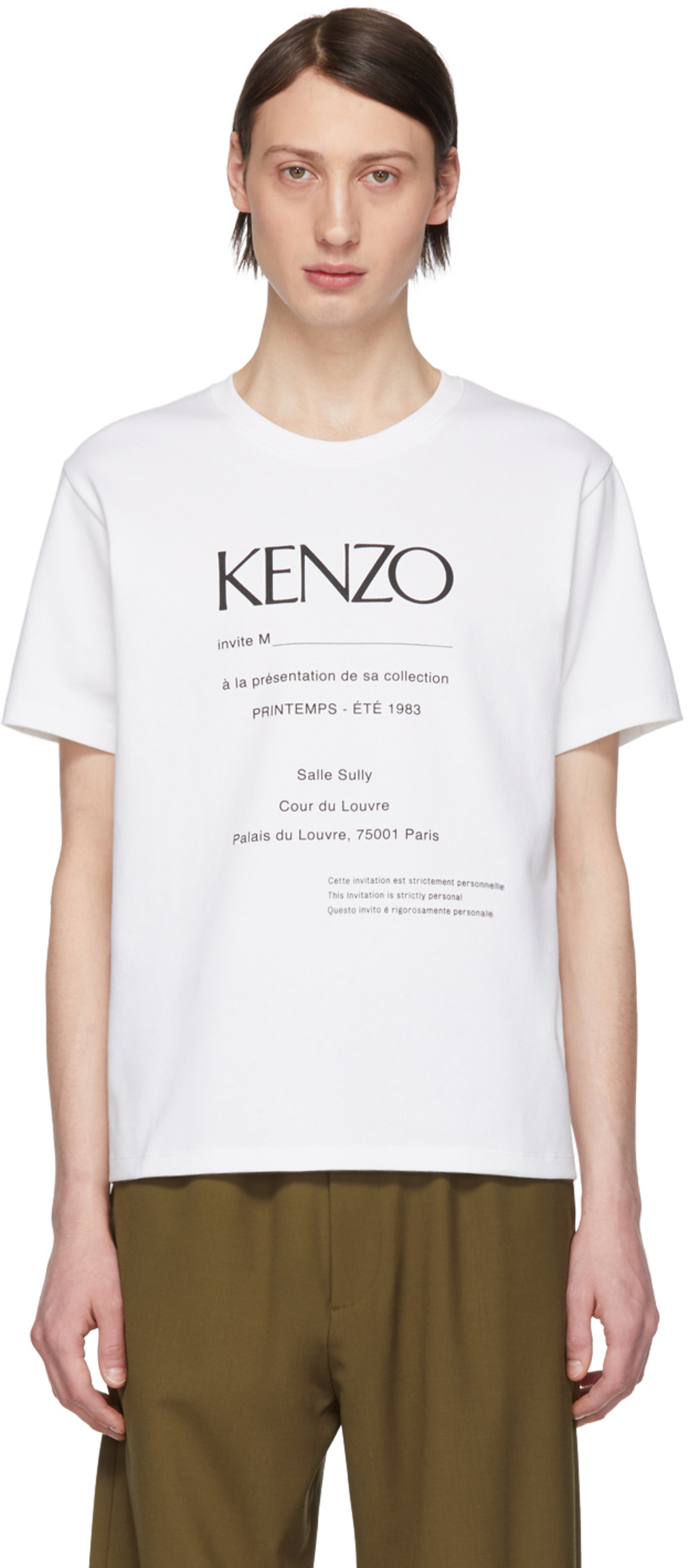 5d371f90 Kenzo t-shirts for Men | SSENSE Canada